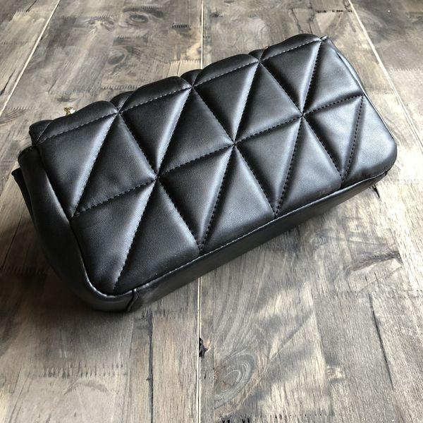 New 2018 women famou brand de igner houlder bag ladie clutch pur e and handbag vintage gold chain flap cro body me enger bag tote