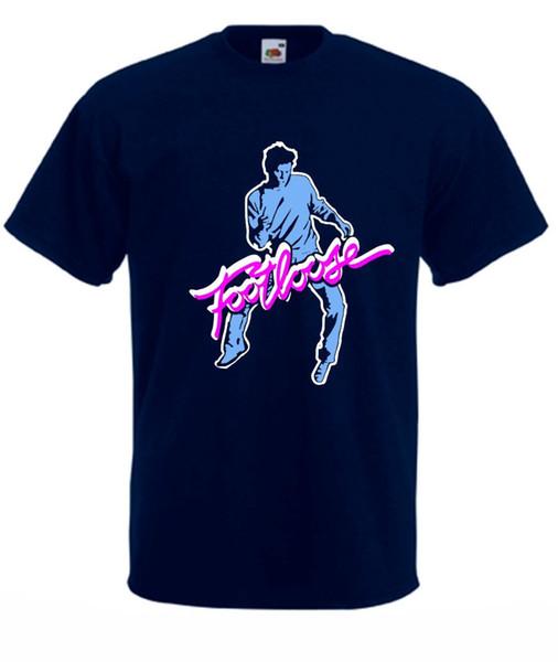 Camiseta musical retro Footloose de la película