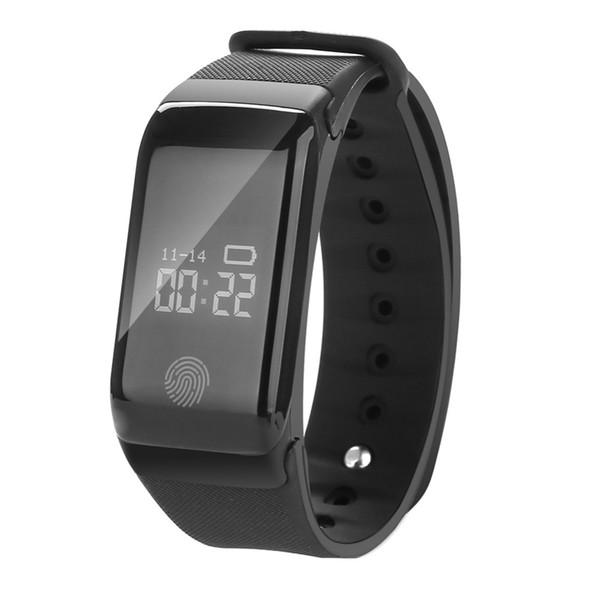 IP67 Waterproof Run Pedometer Smart  Heart Rate Fitness Tracker Pedometer Running Step Counter Wrist Watch