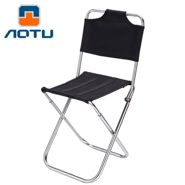 large Aluminum Alloy fishing chair backrest Ultra Light Folding Fishing Chair Seat for Outdoor Camping Picnic Beach
