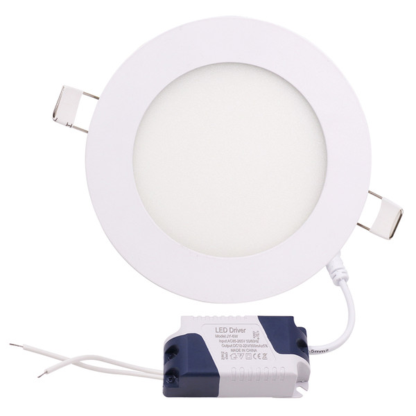 best selling Dimmable 3W 4W 6W 9W 12W 15W 18W 24W Led Recessed Downlights Lamp Warm Natural Cool White Super-Thin Led Panel Lights Round