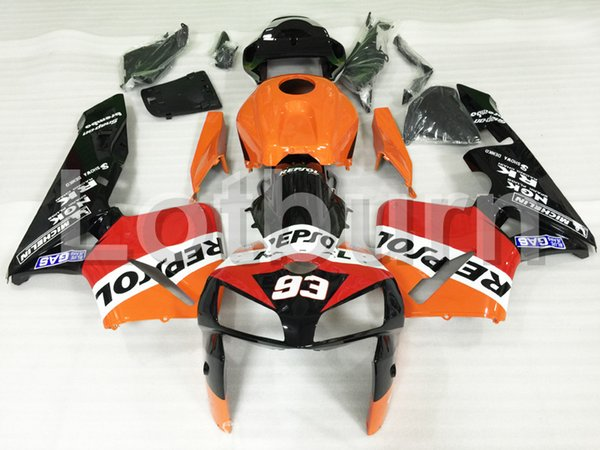 Fit For Honda CBR600RR CBR600 CBR 600 RR 2005 2006 F5 Motorcycle Fairing Kit High Quality ABS Plastic Injection Molding Custom Made A603