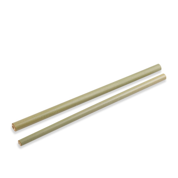 19cm Green Organic Bamboo Drinking Straw Tableware For Party Bar Tool Natural Bamboo Straws Free shipping