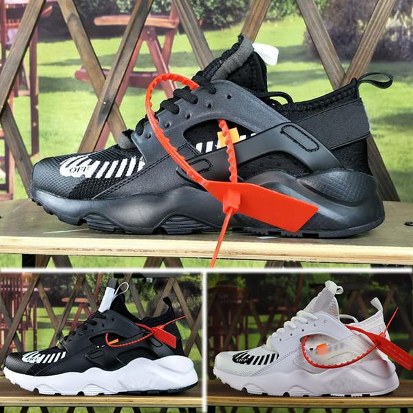 67293cb91972e 2018 Off New Air Huarache Ultra Run 4 IV Running Shoes For Men Women Mesh  Huaraches