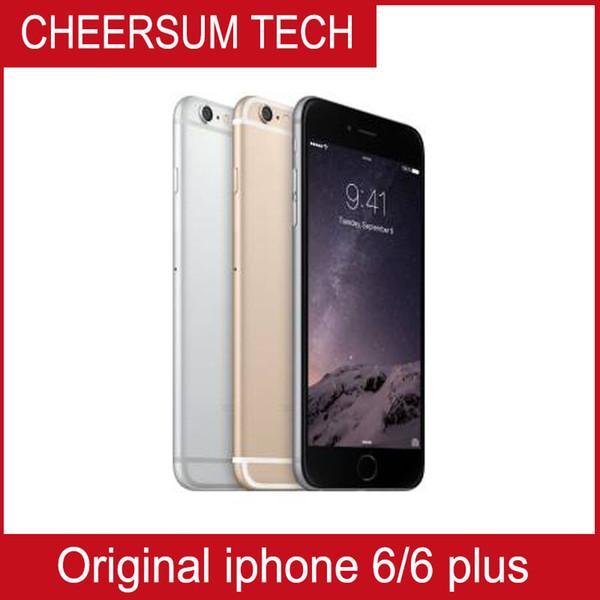 Whole ale refurbi hed unlocked original apple iphone 6 iphone 6 plu 1gb ram 16gb 64gb 128gb rom io cellphone no touch id