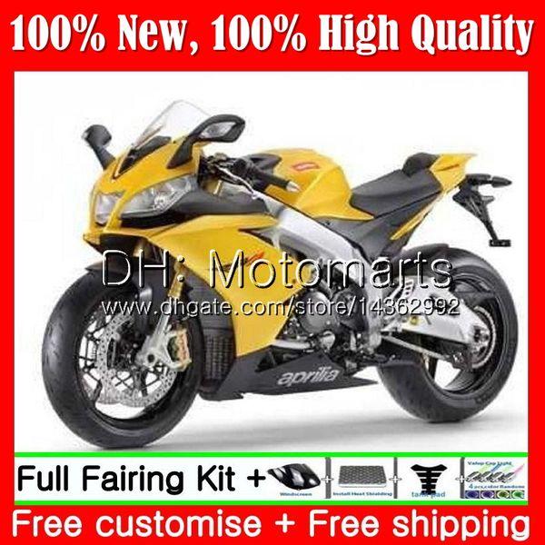 Inyección para Aprilia RS4 RS125 12 13 14 15 16 RS-125 1MT18 RSV125 Brillante dorado RS125RR RS 125 2012 2013 2014 2015 2016 Fairing Bodywork