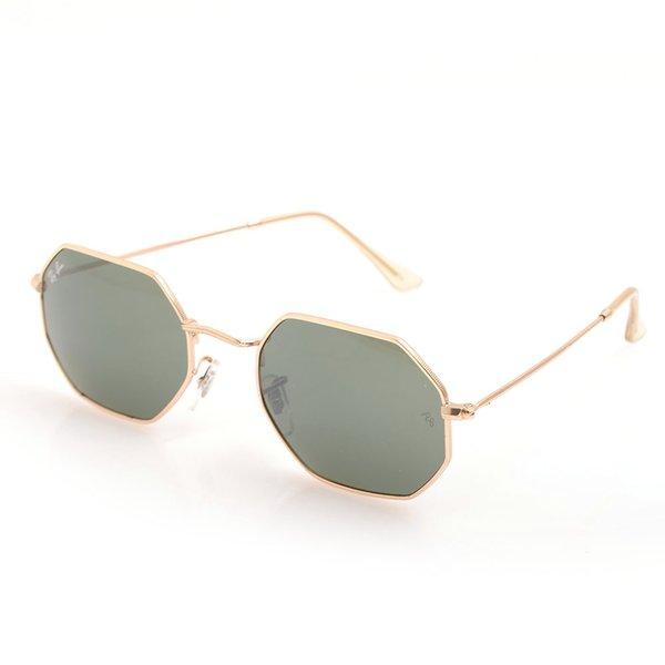 gold Frame Green Lens C