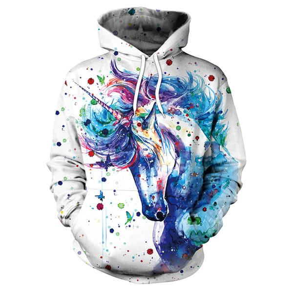 Christmas Fashion Couples Men Women Unisex 3D Print Hoodies Sweater Sweatshirt Jacket Pullover Top digital printing shirt #064-
