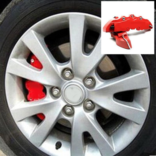 2Pcs/Lot ABS Endless Brake Caliper Cover Front Rear Brake Pliers Caliper Cover Decoration Cover For 16 17 Inch Wheel