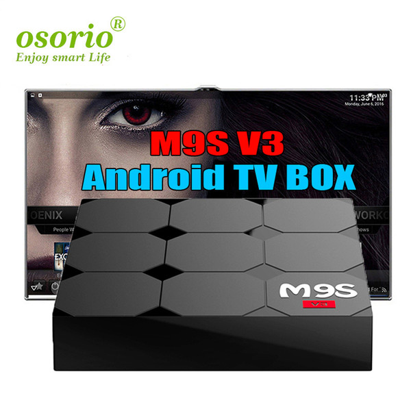 Android 6.0 tv boxes M9S V3 1G8G Rockchip RK3229 TV Box 4K support 3D Movies playback best sell Private model WIFI Android media player