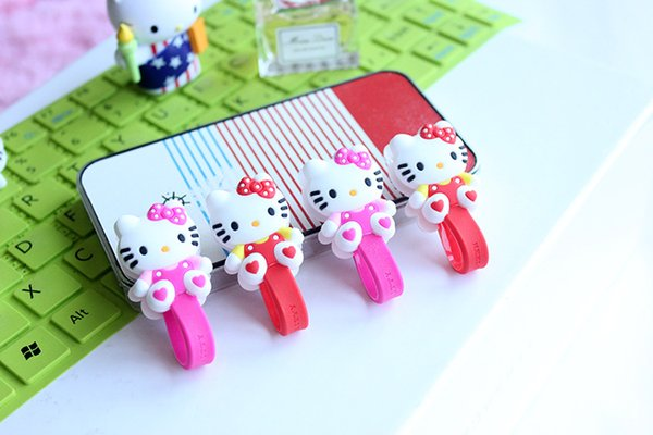 Headphone Cord Winder Cartoon Earphone Wire Cord Winder Wrap Organizer Cable Holder For The Phone Accessories