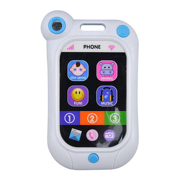 Baby kids Learning Study Musical Sound Cell Phone Toys Children Educational Toys mobile phones learning toy