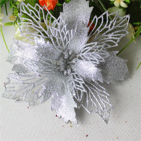Romantic Rosette Hanging Charm Party Decoration Christmas Tree Ornament Flower christmas decorations for home 2019 navidad