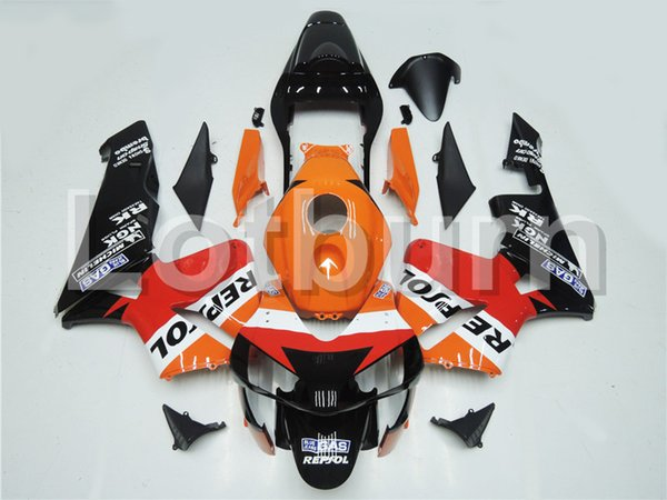 Fit For Honda CBR600RR CBR600 CBR 600 2003 2004 03 04 F5 Motorcycle Fairing Kit High Quality ABS Plastic Injection Molding Custom Made A191