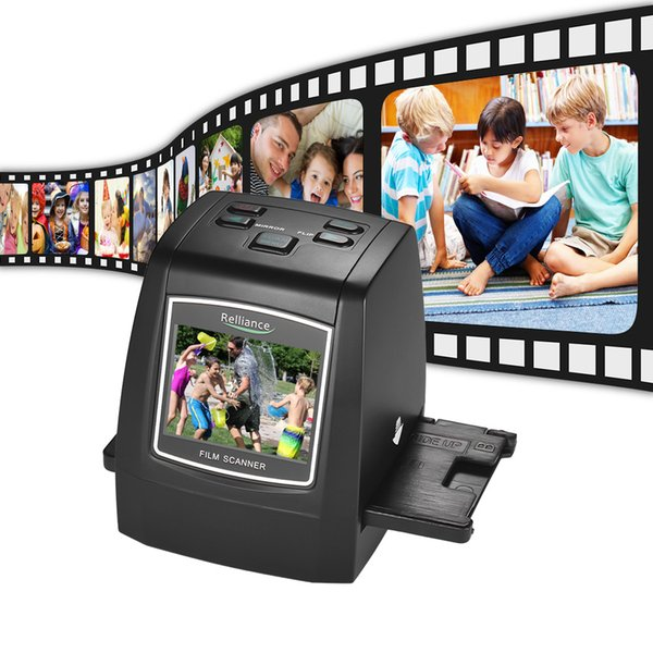 "top popular Aibecy High-Resolution 14MP 22MP Film Scanner Portable Negative Film Slide Viewer Scanner Digital Converter with 2.4""LCD 2019"