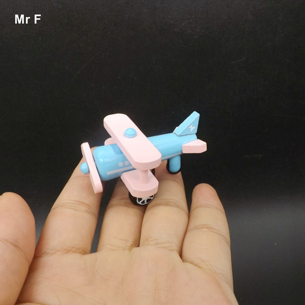 Educational Prop Propeller Plane Model Airplane Wooden Toys For Kids Gift Christmas Intelligence Educational Mind Game
