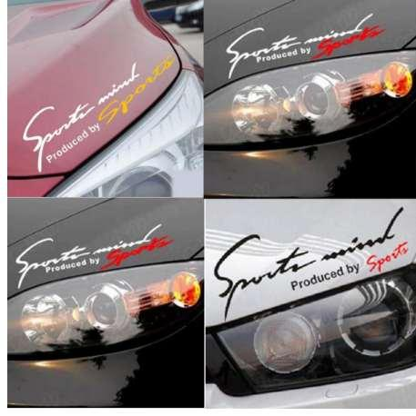 Dewtreetali Car Stickers Reflective Lamp Eyebrow Sports Styling Decor for Outback Forester Legacy XV impreza sti legacy