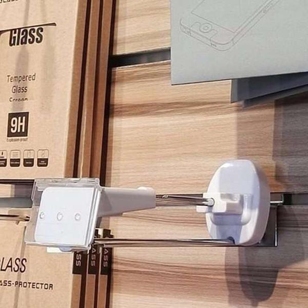 (100 шт / уп) 7 дюймов длина белого цвета магнитных чистая цена ламеля стены безопасн