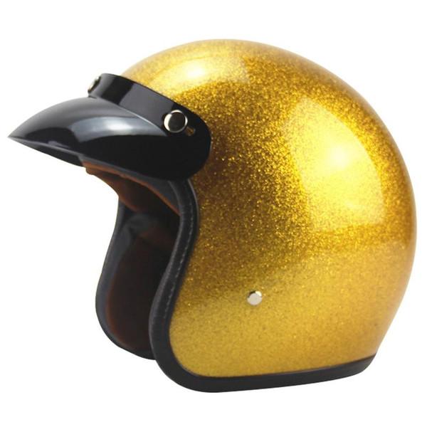 Neue Ankunft Motorrad Helm Retro Vespa Helme Vintage Open Gesicht Helm Halley Halbe 3/4 Casque Moto Jet