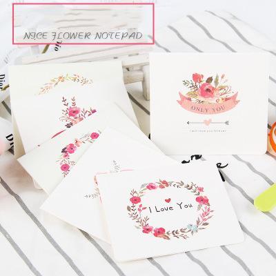 Compre 6 Estilos Serie Floral Tarjeta De Felicitación Invitación Decoración De La Boda Tarjetas Artesanía Fiesta De Cumpleaños Decoración Navideña