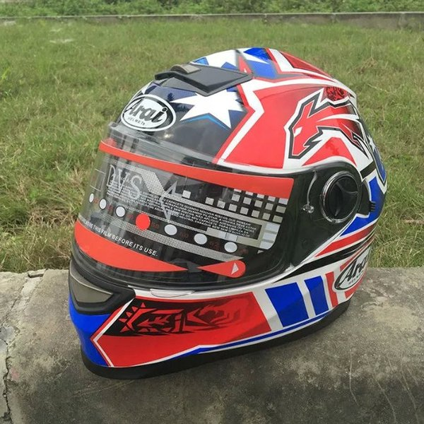 Newest Motorcycle helmet full face Arai helmet Male and female knight warm all season can use color one powerful