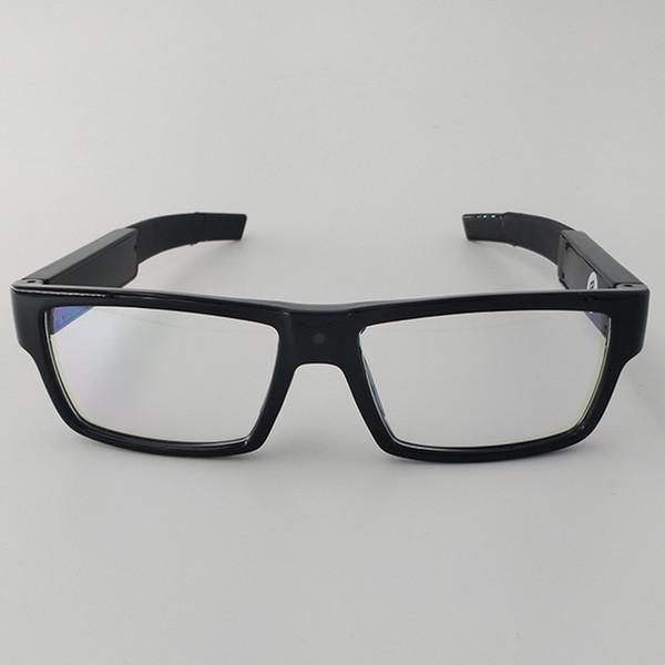 Смарт-очки камеры DVR сенсорный переключатель видеомагнитофон Pinhole объектив очки видеокамеры HD 1080P очки безопасности встроенный 16 ГБ карты памяти