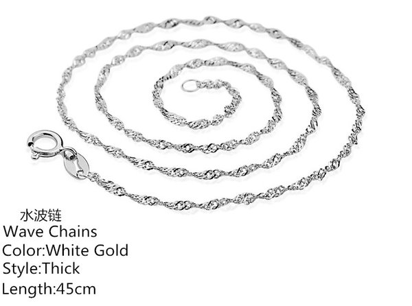 white gold-thick-45cm