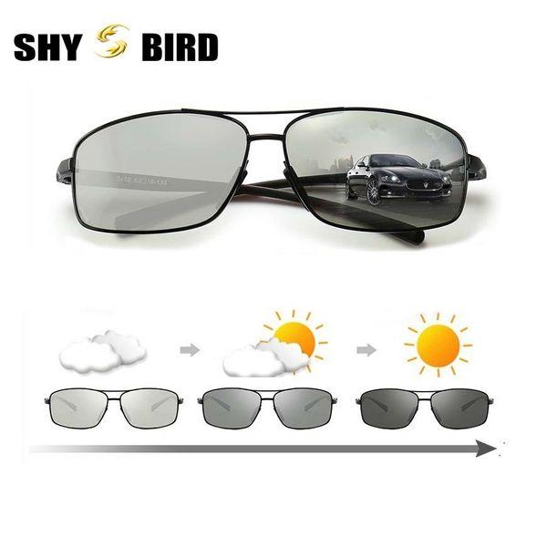 0a899f0f7962e 2018 óculos de sol óculos de sol fotocromáticos polarizados descoloração HD masculino  anti-reflexo óculos