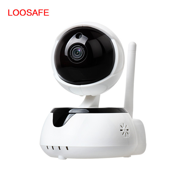 LOOSAFE Wireless Home Security Baby Monitor 2 way audio smart with alarm Network Wireless Wi-fi Night Vision CCTV Camera