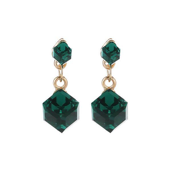 Geometric Crystal Drop Earrings For Women Jewelry Gifts Dangle Drop Earrings Fashion Luxury Evening Prom Party Earring Women Costume Jewelry