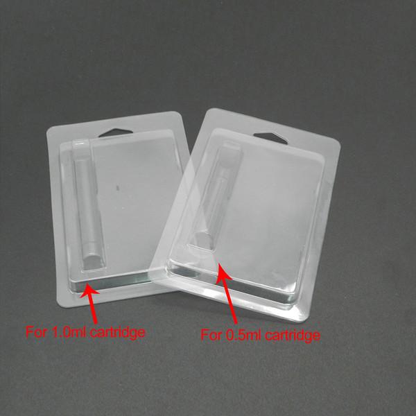 2018 Hotselling Vape cartucho de Varejo Embalagem Blister Embalagem para 0.5 ml / 1 ml Cartuchos 92A3 CE3 G2 Vaporizador Caneta Embalagem frete grátis