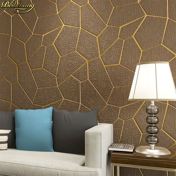 Beibehang Moderne Unregelmäßige Geometrie Moderne Tapete Für Wände Decor 3D  Tapetenrollen Für Schlafzimmer Wohnzimmer Sofa Hintergrund