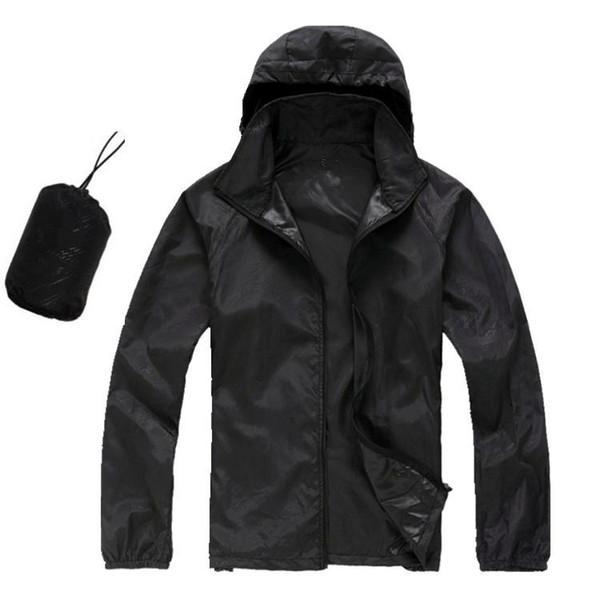 top popular Summer New Brand Women's Men's KIDS Fast drying Outdoor Casual Sports Waterproof Skin Anti UV Jackets Coats Windbreaker Size XS- 3XL 2019
