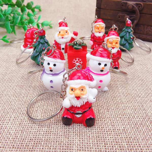 Selling Christmas ornaments the old key chain pendant activity promotion decorative gift pendant packages mailed free of charge