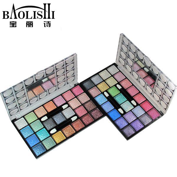 Baolishi 25 Renk En Çıplak Pırıltılı Smokey Profesyonel Su Geçirmez Göz Farı Paleti Doğal Mat Kentsel Marka Makyaj Kozmetik