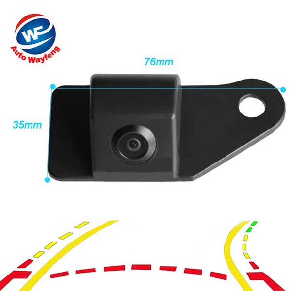 Intelligent Dynamic Trajectory Tracks Rear View Mirror Parking System Car Camera With Moving Guide Parking Line For Mitsubishi ASX