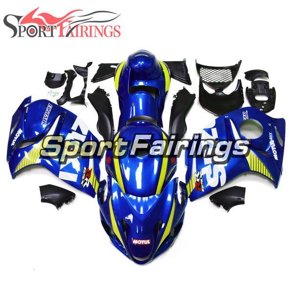 Kit completo carenado ABS para motocicletas Suzuki GSXR1300 Hayabusa 2008 - 2016 09 08 12 14 15 13 Carenados Sportbike Injection Gloss Blue Bodywork