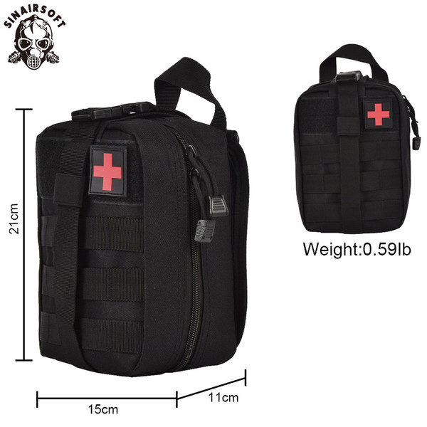 best selling SINAIRSOFT Tactical Medical First Aid Kit IFAK EMT Utility Pouch Treatment Waist Pack Multifunctional Molle Emergency Bag upda For Vest Belt