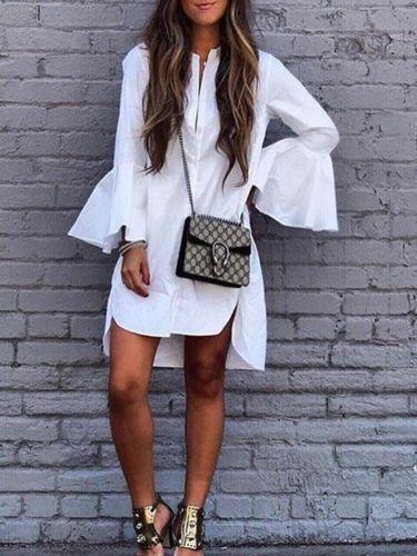 dc3be15c2b8e1 2019 Ruffle White Shirt Women Fashion Tops 2017 Autumn Ladies ...
