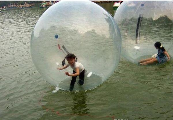 Wasserball aufblasbarer Ball für Wasserläufe Wasserlaufball