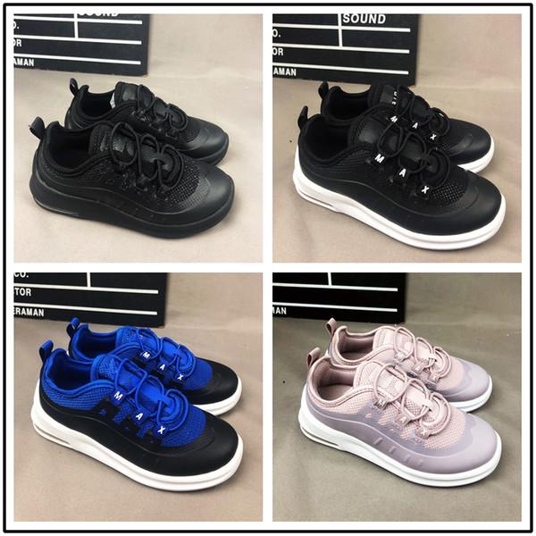 2018 Designer baby kids 98 98s Running Shoes Gundam Triple Black White Children Casual Sports Sneakers For boys girls size 24-35