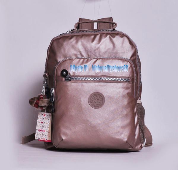 best selling Men madam Ultralight stripe zipper waterproof Nylon monkey star PRINTED Multicolor pocket backpack City Pack in common use Pack K2064-02