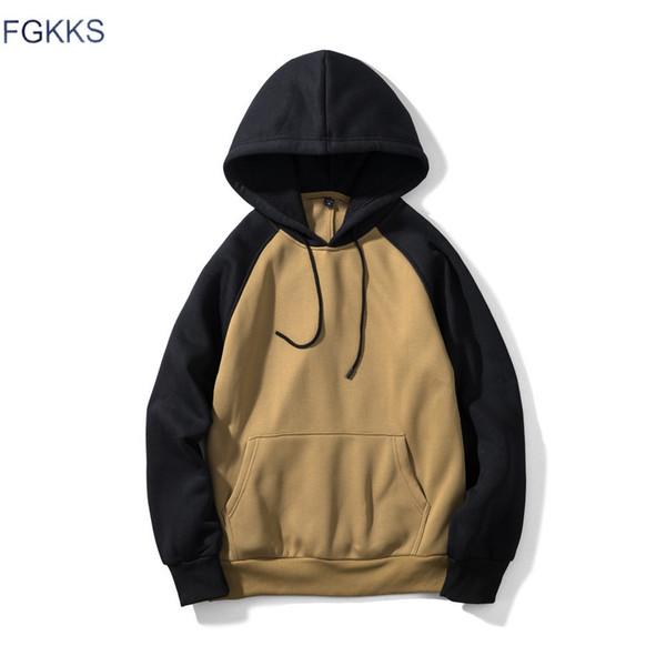 cc58ded58 FGKKS New Brand Fashion Hoodies Men's Clothes Autumn Sweatshirts Men Hip  Hop Streetwear Hoody Man's Clothing