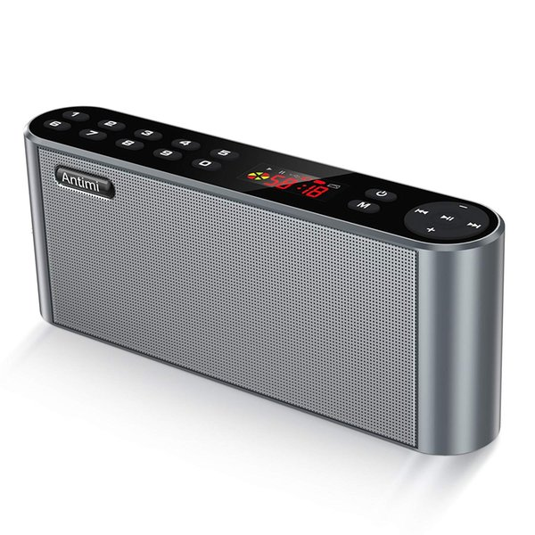 Bluetooth Speaker,FM Radio Player,MP3 Player Stereo Portable Wireless Speaker Drivers with HD Sound, Built-in Microphone, Enhanced Bass