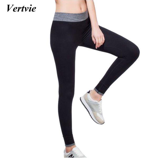Vertvie Gym Seksi Spor Legging Yüksek Bel Egzersiz kıyafetleri Sıcak Yoga Pantolon kadın Egzersiz Kıyafet Çalışan Spor Tayt Kadınlar