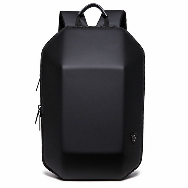 2018 New Designed 3D ABS Shell Backpack Simple Pure Color Computer Backpack Novelty Student Bag Men and Woman Travel Backpacks