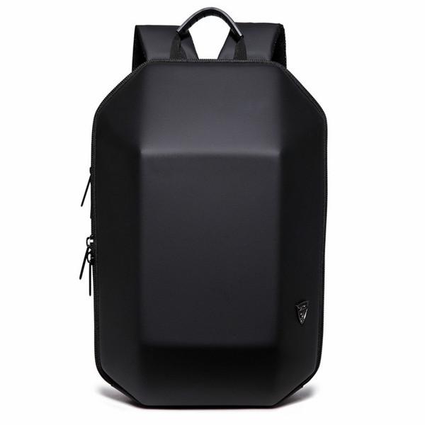 2018 Nuevo Diseño 3D ABS Shell Mochila Simple Color Puro Ordenador Mochila Novedad Estudiante Bolsa Hombres y Mujer Mochilas de Viaje