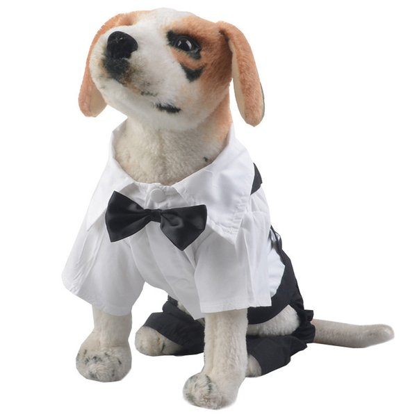 Handsome Pet Wedding Suit Party Fashion Wear Dog Puppy Suits Dogs ...