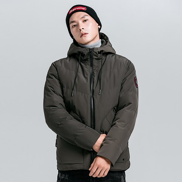 a446708ad5f Young men Hooded Thin Jacket plus size Quick Dry Windbreaker tops long  sleeve Waterproof casual jackets