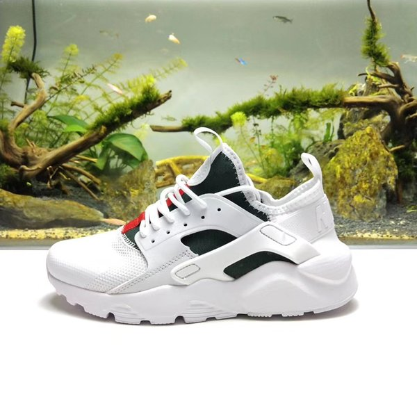 bd9f7d0103ee3 huarache army green Coupons - Mens designer shoes Huarache 4 Ultra Casual shoes  white black Huarache